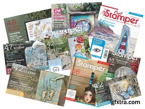 Craft Stamper - Full Year Issues Collection 2018