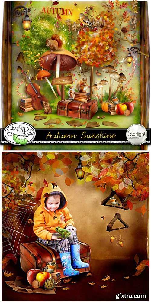 Scrap Kit - Autumn Sunshine