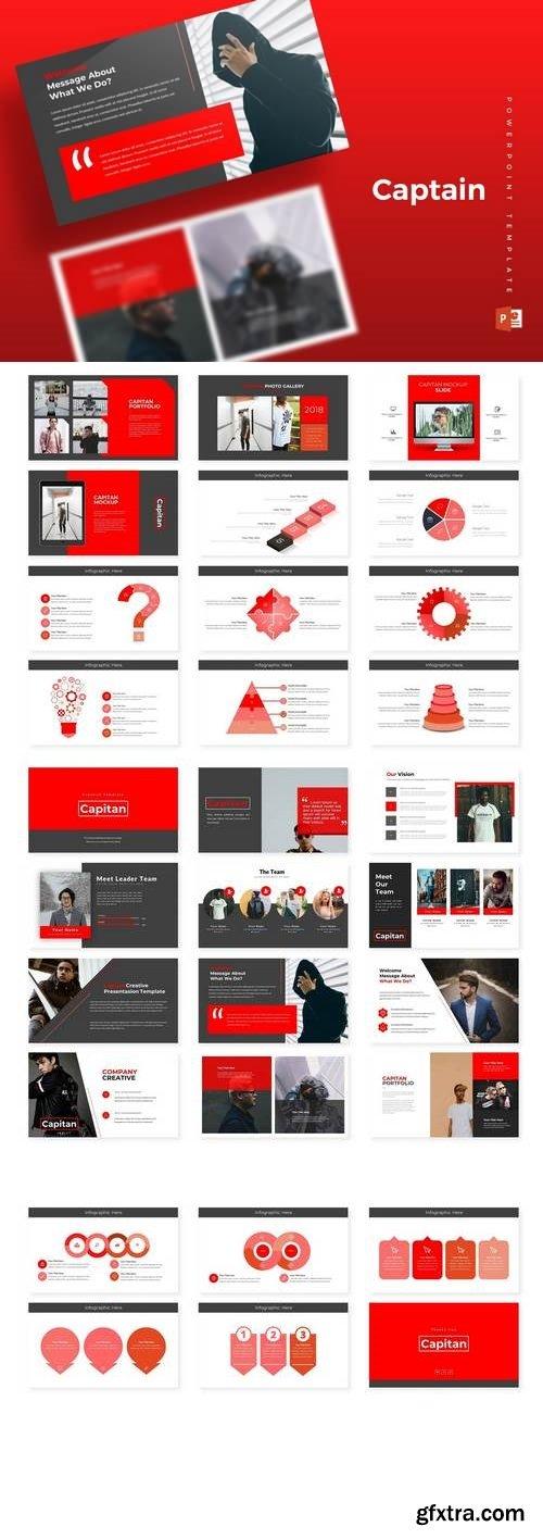 Capitan - Powerpoint, Keynote, Google Sliders Templates