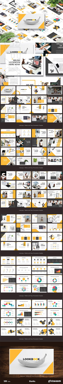CreativeMarket - LOOKBOOK Presentation Template 3033887
