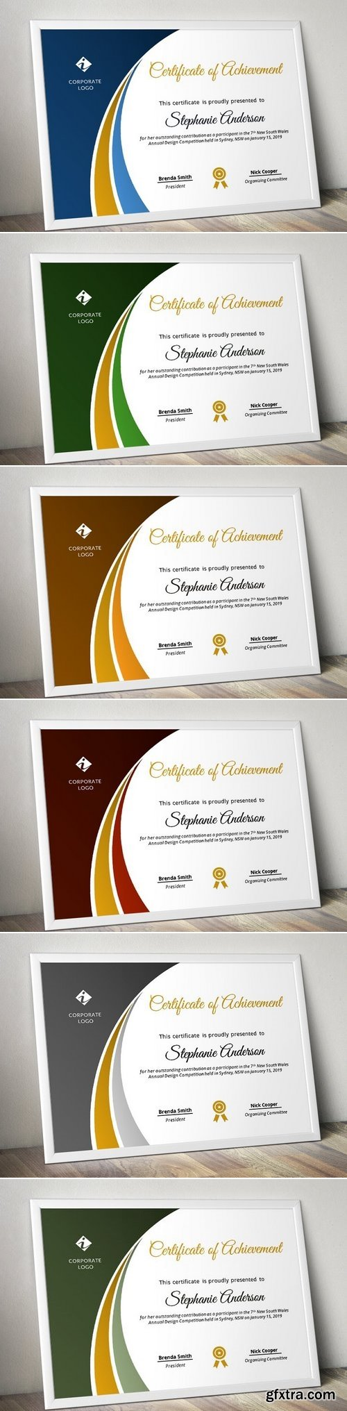 CM - Modern Certificate Template (pptx) 1563355