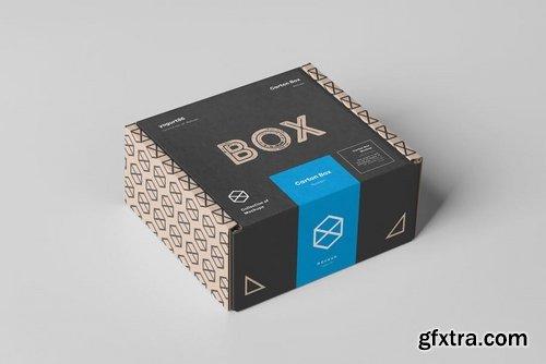 Carton Box Mock-up 95x85x42