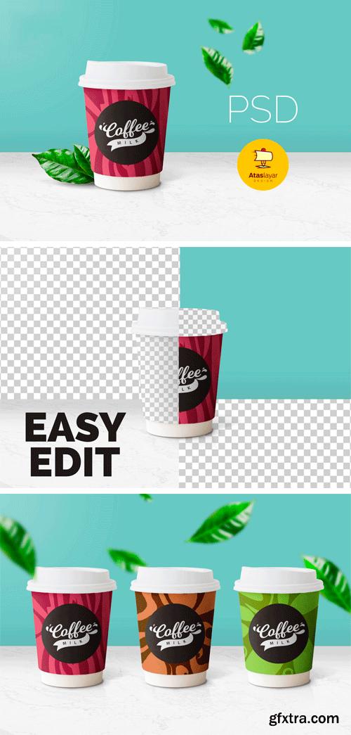 Creativefabrica - Coffee Cup Mockup 638266