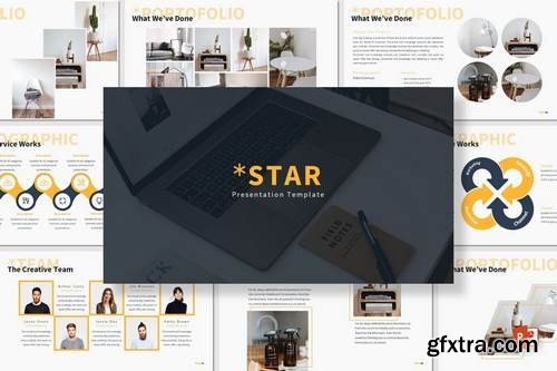 Star - Powerpoint & Google Slides Template