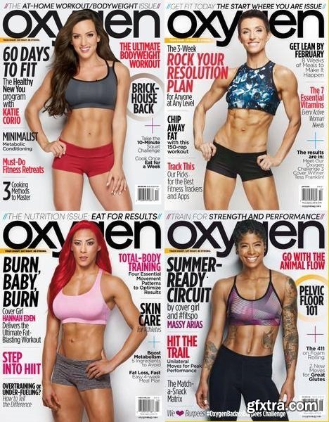 Oxygen USA - 2018 Full Year Issues Collection