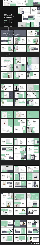 CreativeMarket - Thita Lookbook Powerpoint Templates 2982524