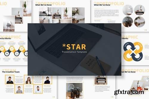 Star - Powerpoint, Keynote, Google Sliders Templates
