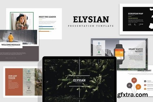 Elsyian Nature Lookbook Powerpoint