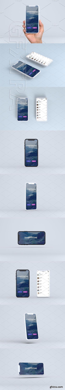 CreativeMarket - Smartphone Mock-Ups Vol 3 3087692