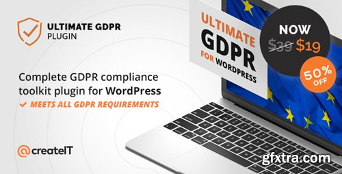 CodeCanyon - Ultimate WP GDPR v1.6.8 - Compliance Toolkit for WordPress - 21704224