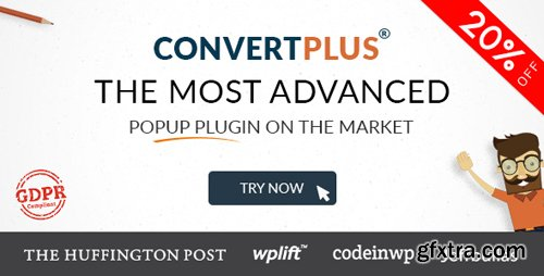 CodeCanyon - Popup Plugin For WordPress - ConvertPlus v3.3.6 - 14058953 - NULLED