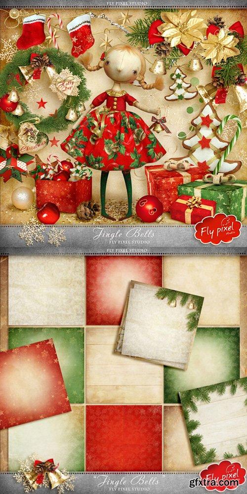 Christmas Scrap Kit - Jingle Bells