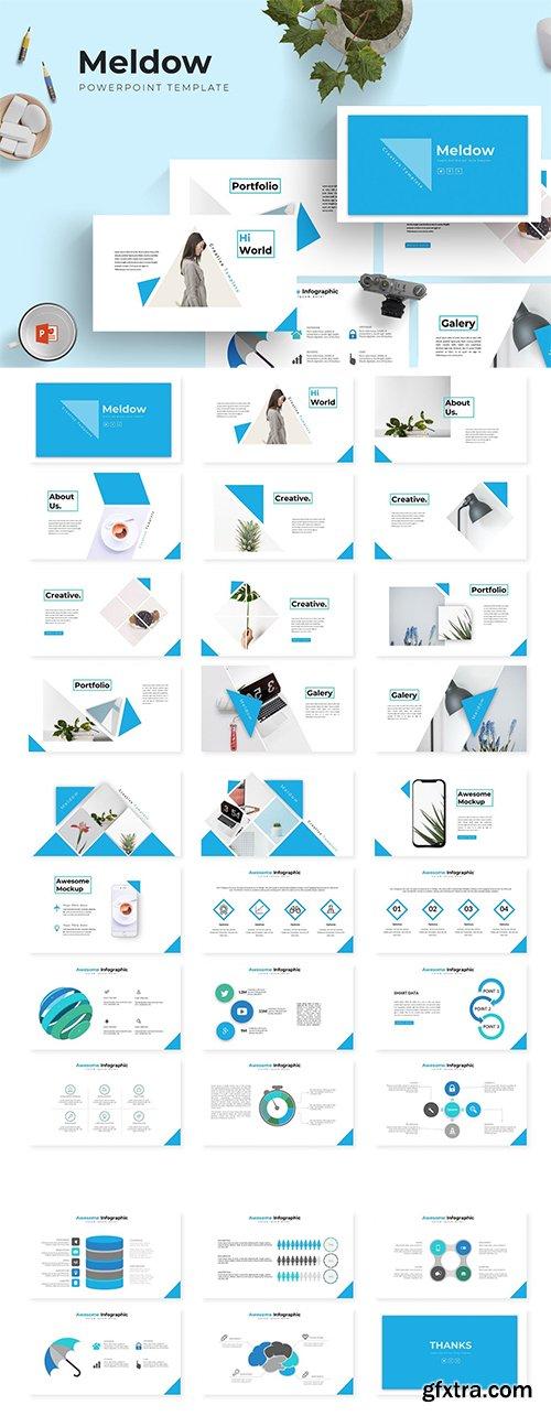 Meldow - Powerpoint, Keynote and Google Sliders Templates
