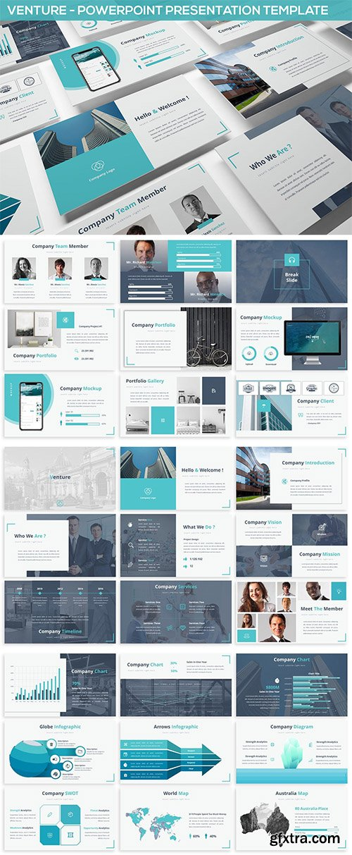 Venture - Powerpoint Presentation Template