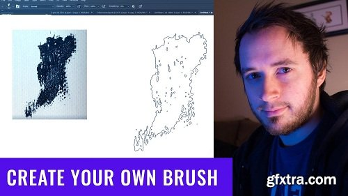 Create Your Own Unique Paint Brush In Photoshop