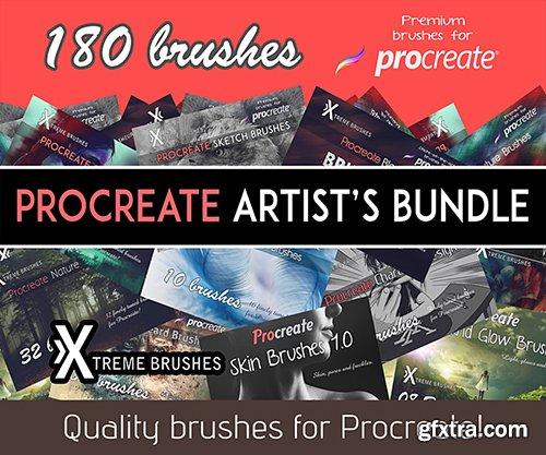 Cubebrush - Procreate Artist's Bundle