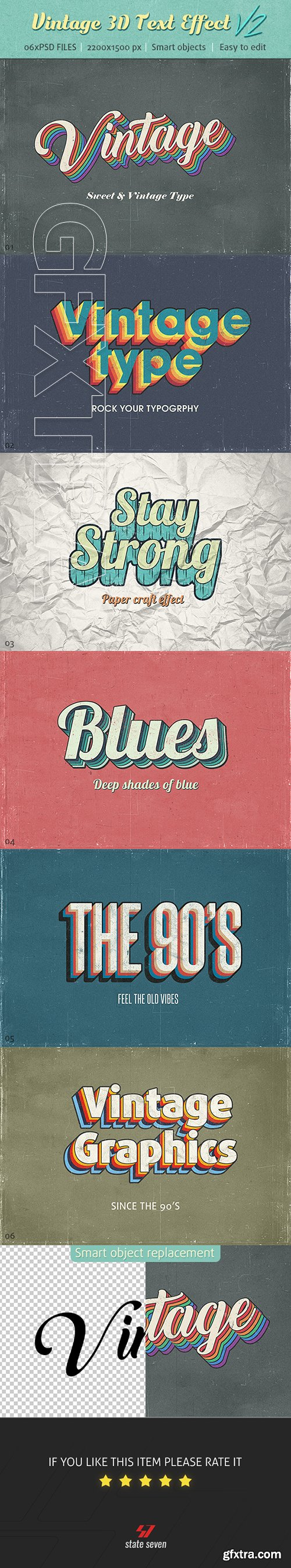 GraphicRiver - Vintage Text Effects V2 22692826