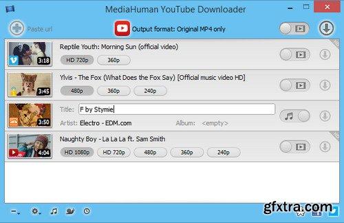 MediaHuman YouTube Downloader 3.9.9.8 (0211) Multilingual