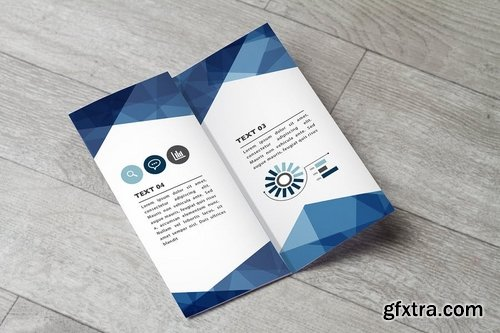 Trifold Mock Up Vol 02