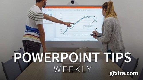 Lynda - PowerPoint Tips Weekly [Updated 10/24/2018]
