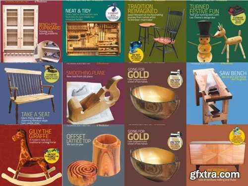 The Woodworker & Woodturner - 2018 Full Year Issues Collection