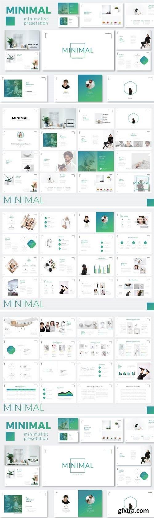 Minimalist - Powerpoint, Keynote, Google Sliders Templates