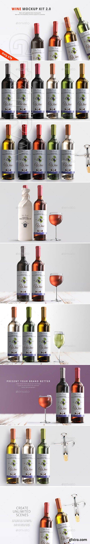 GraphicRiver - Wine Mockup Kit 2.0 22732337