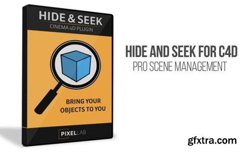 Hide and Seek Plugin for Cinema 4D (Win/MacOS)