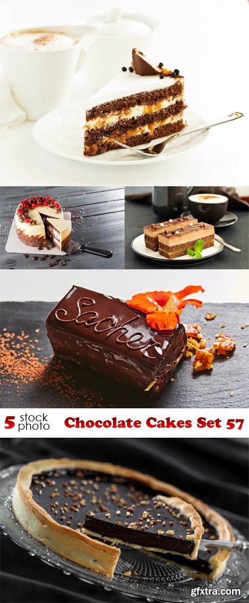 Photos - Chocolate Cakes Set 57
