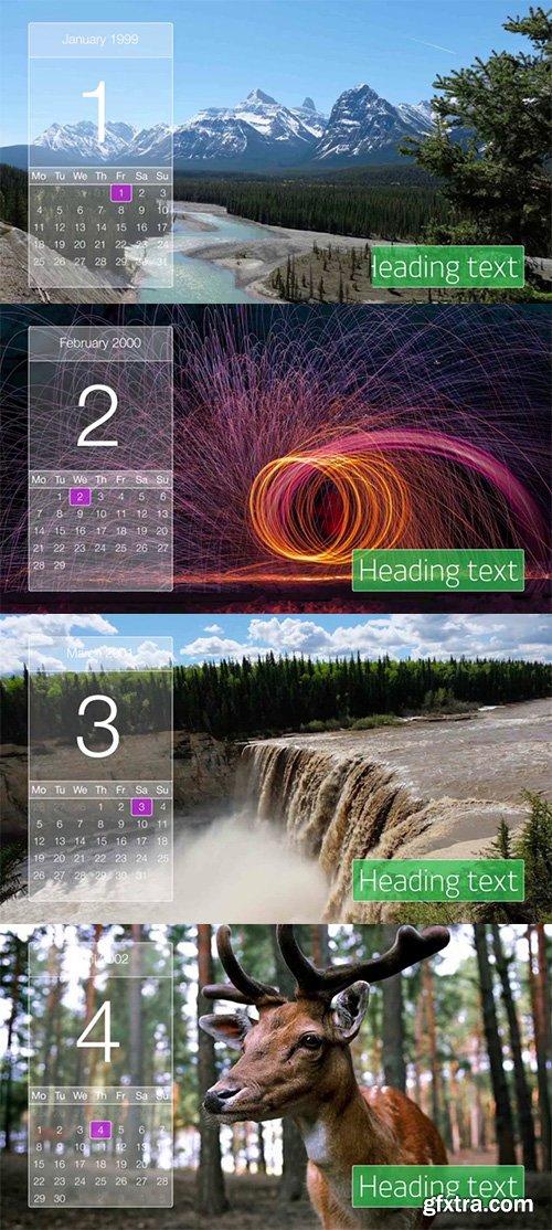 Pond5 - Slideshow Calendar 088144538