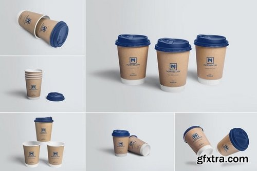 6 Awesome Coffee Cup Mockups