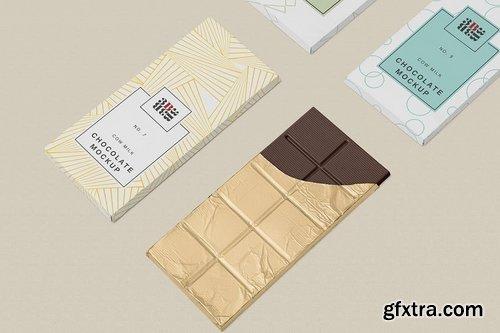 5 Cool Chocolate Bar Mockups