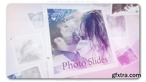 Videohive Inked Flying Photo Slides 22403101