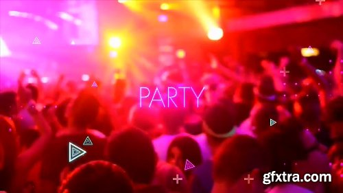 Videohive Neon Light Party 22785027