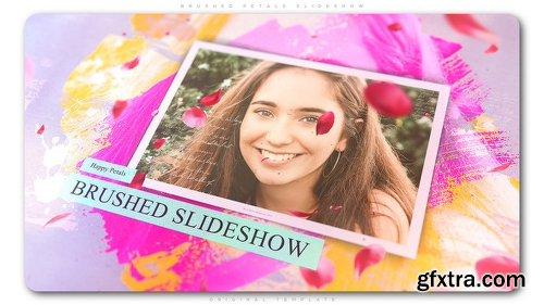 Videohive Brushed Petals Slideshow 22549430