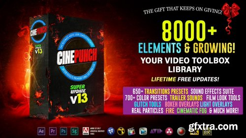 Videohive CINEPUNCH - 8000+ Elements and Growing! 20601772