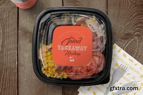 5 Food Box Branding Mockups