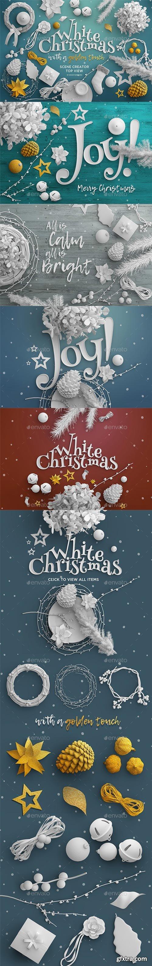 GraphicRiver - Christmas Top View Scene Creator - 22652394