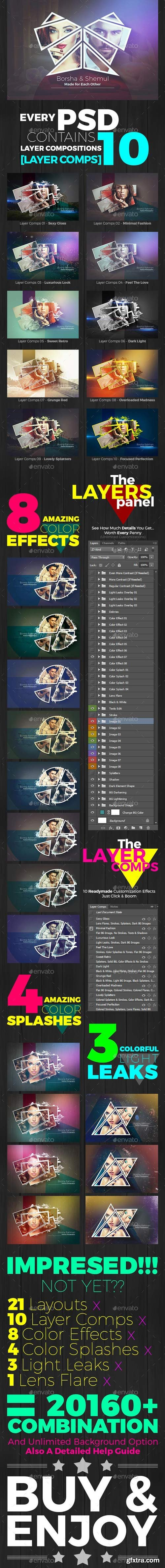 GraphicRiver - Abstract Photo Collage Pro v.5 - 13795618