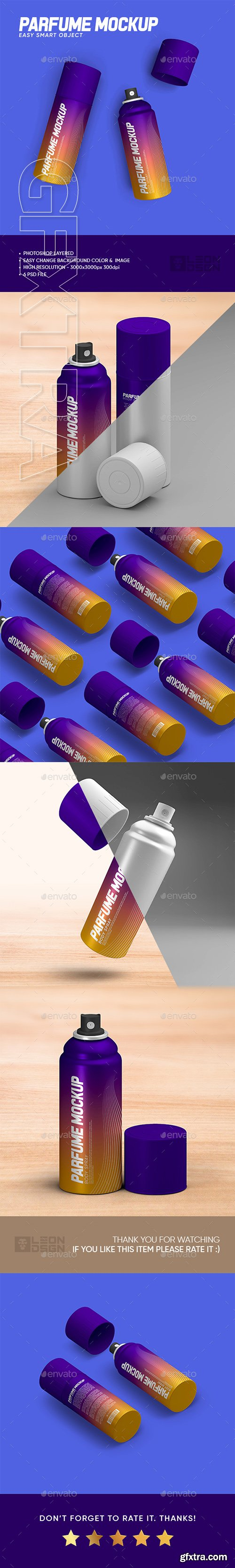 GraphicRiver - Perfume Bottle Mock-up 22734274