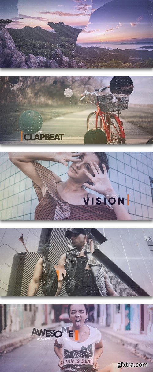 Videohive Upbeat Lounge Opener Slideshow 21983233
