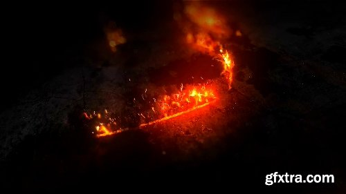 Videohive Epic Fire Logo 20431154