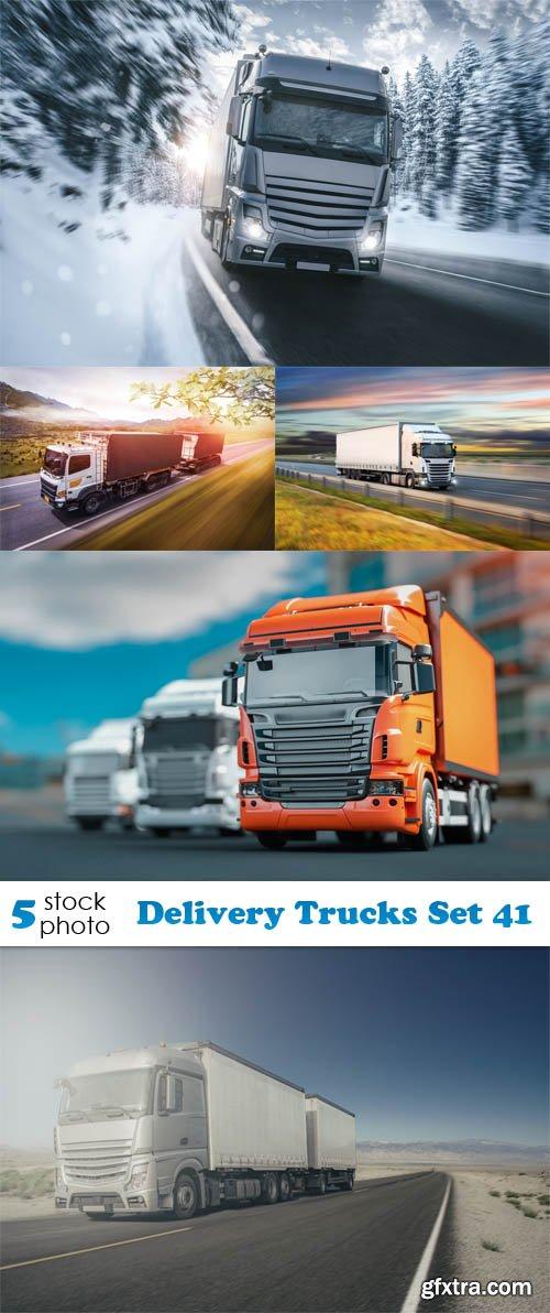 Photos - Delivery Trucks Set 41