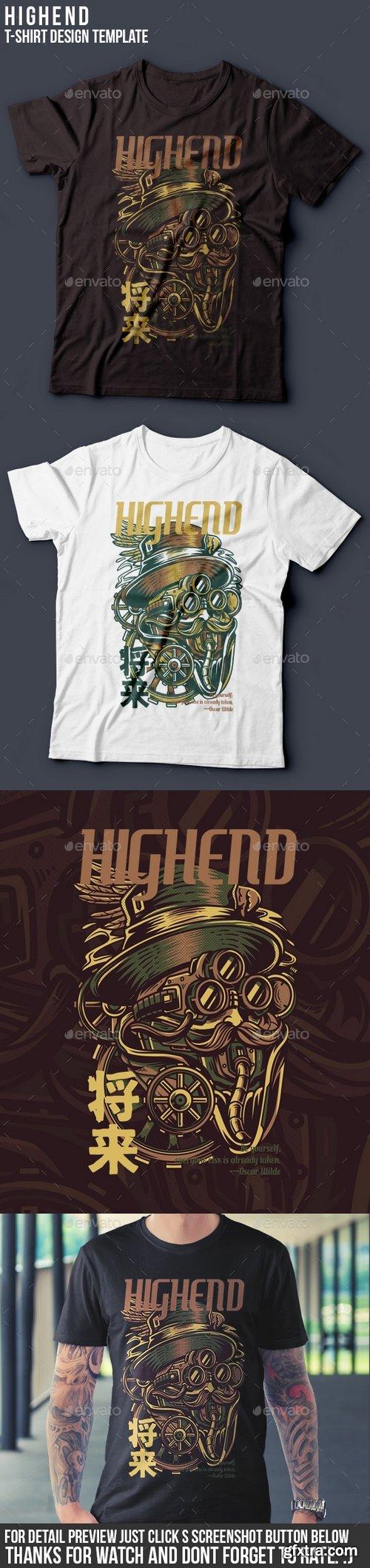 Graphicriver - Highend T-Shirt Design 22061797