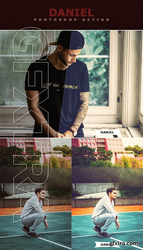 GraphicRiver - Daniel Photoshop Action 22665248