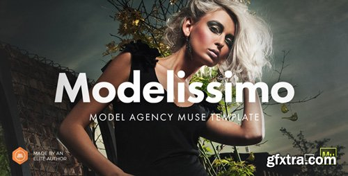 ThemeForest - Modelissimo v2.0 - Model Agency / Fashion Portfolio Onepage Muse Template - 8273166