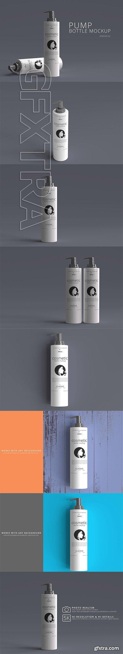 CreativeMarket - Pump Bottle Mockup 01 2993967