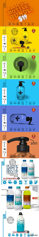 CreativeMarket - Jars&Bottles Bundle 3085420