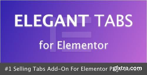 CodeCanyon - Elegant Tabs for Elementor v1.0 - 21669071