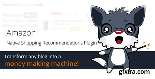 CodeCanyon - Amazon Native Shopping Recommendations Plugin v1.3 - 11079624
